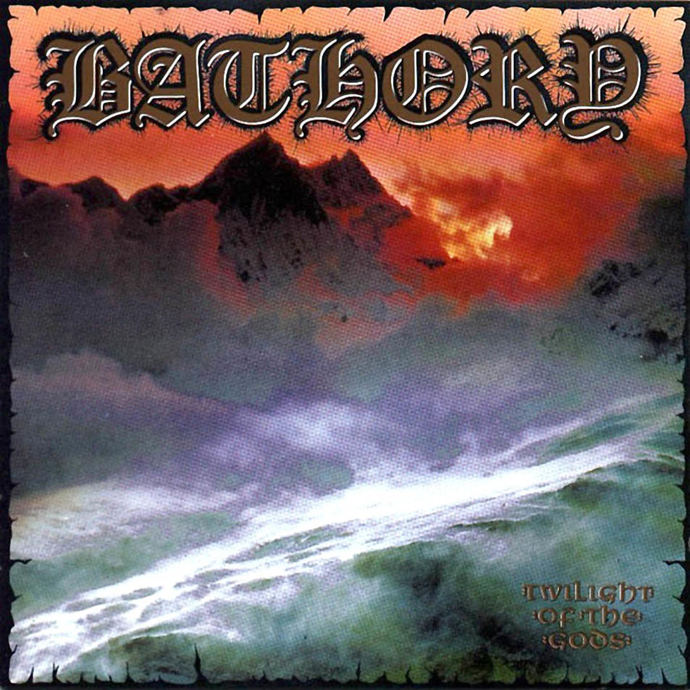 Bathory, groupe manifeste du viking-metal, et largement nourri par la mythologie scandinave